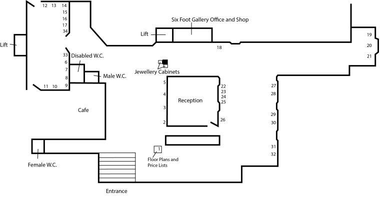 floorplan render a pinkerton