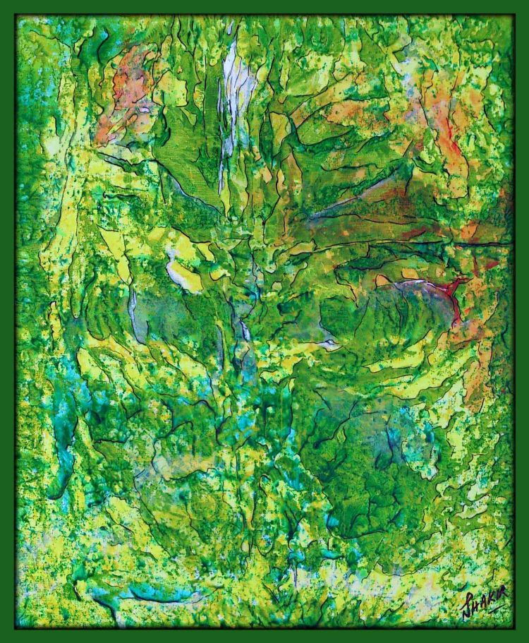 Spring Touch - Acrylic on Canvas - 24 inch × 30 inch-2.jpg