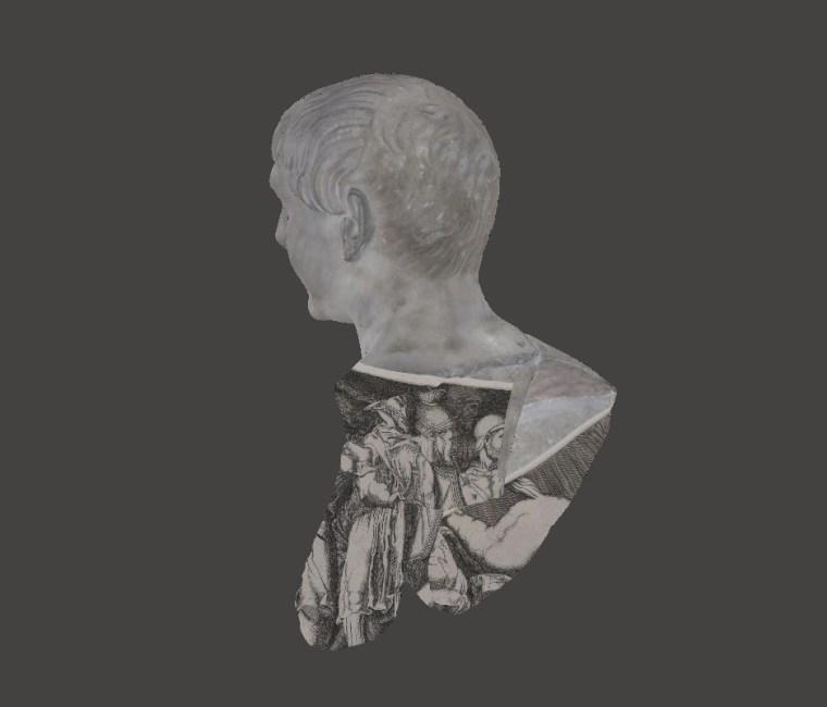 Trajan side view
